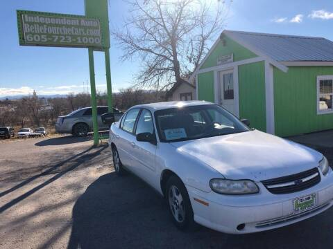 2005 Chevrolet Classic for sale at Independent Auto in Belle Fourche SD