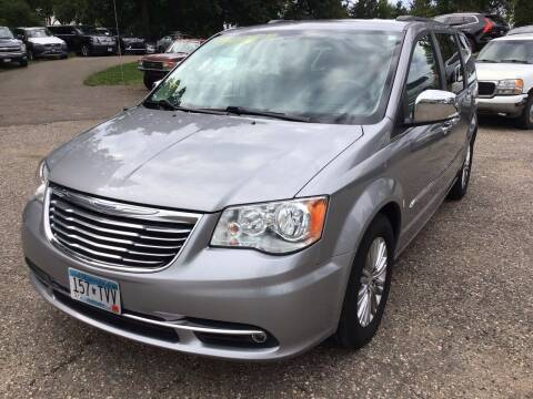 2015 Chrysler Town and Country for sale at Sparkle Auto Sales in Maplewood MN