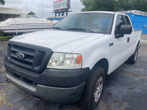 2005 Ford F-150 for sale at The Peoples Car Company in Jacksonville FL