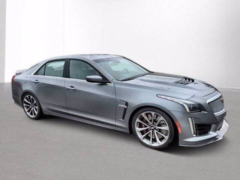 2018 Cadillac CTS-V for sale at Jimmys Car Deals at Feldman Chevrolet of Livonia in Livonia MI