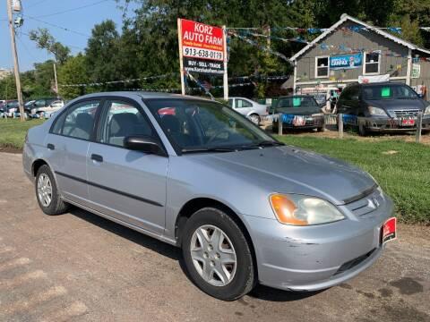2003 Honda Civic for sale at Korz Auto Farm in Kansas City KS
