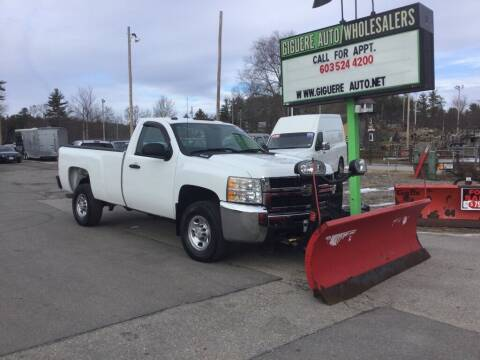 2009 Chevrolet Silverado 2500HD for sale at Giguere Auto Wholesalers in Tilton NH