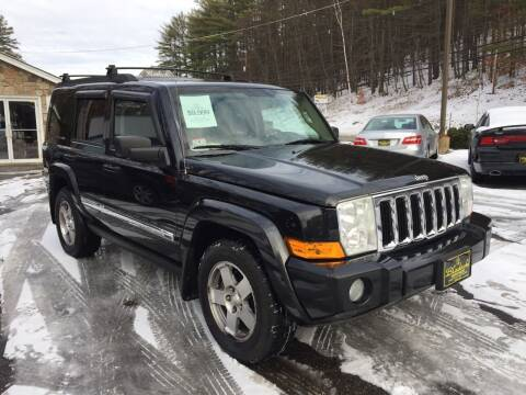 2010 Jeep Commander for sale at Bladecki Auto in Belmont NH