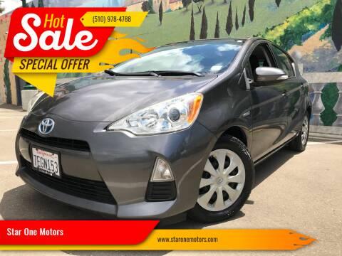 2014 Toyota Prius c for sale at Star One Motors in Hayward CA