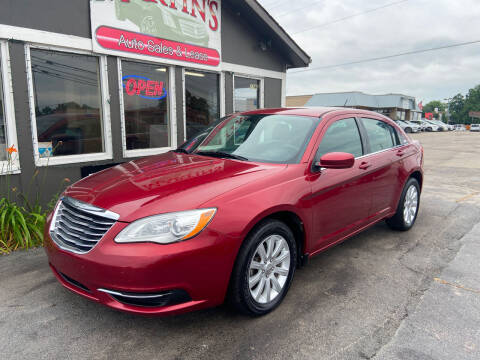 2013 Chrysler 200 for sale at Martins Auto Sales in Shelbyville KY