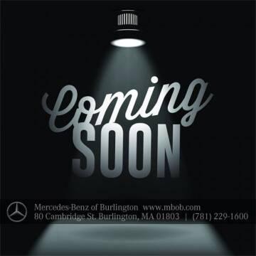 2016 Mercedes-Benz E-Class for sale at Mercedes Benz of Burlington in Burlington MA