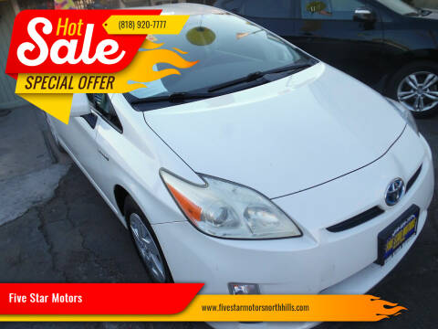 2010 Toyota Prius for sale at Five Star Motors in North Hills CA