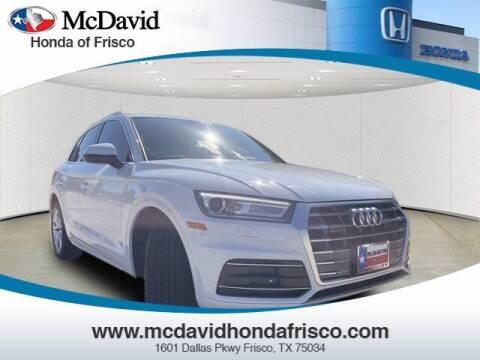 2019 Audi Q5 for sale at DAVID McDAVID HONDA OF IRVING in Irving TX