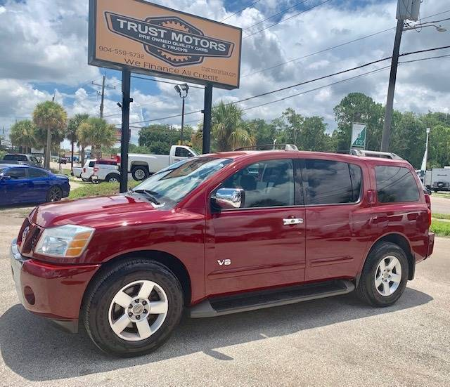 2007 Nissan Armada for sale at Trust Motors in Jacksonville FL