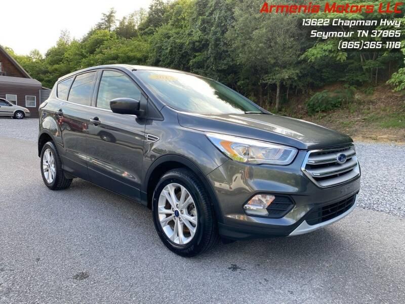 2017 Ford Escape for sale at Armenia Motors in Seymour TN