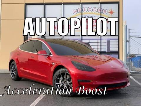 2020 Tesla Model 3 for sale at Las Vegas Auto Sports in Las Vegas NV