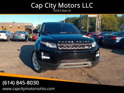 2015 Land Rover Range Rover Evoque for sale at Cap City Motors LLC in Columbus OH