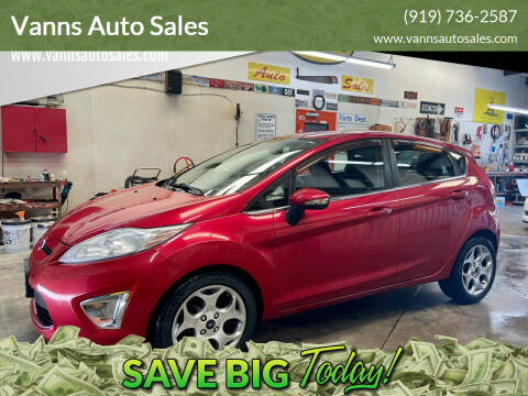 2011 Ford Fiesta for sale at Vanns Auto Sales in Goldsboro NC