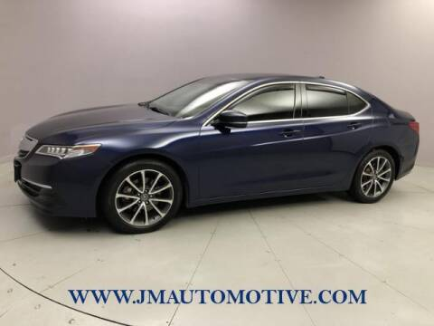 2016 Acura TLX for sale at J & M Automotive in Naugatuck CT