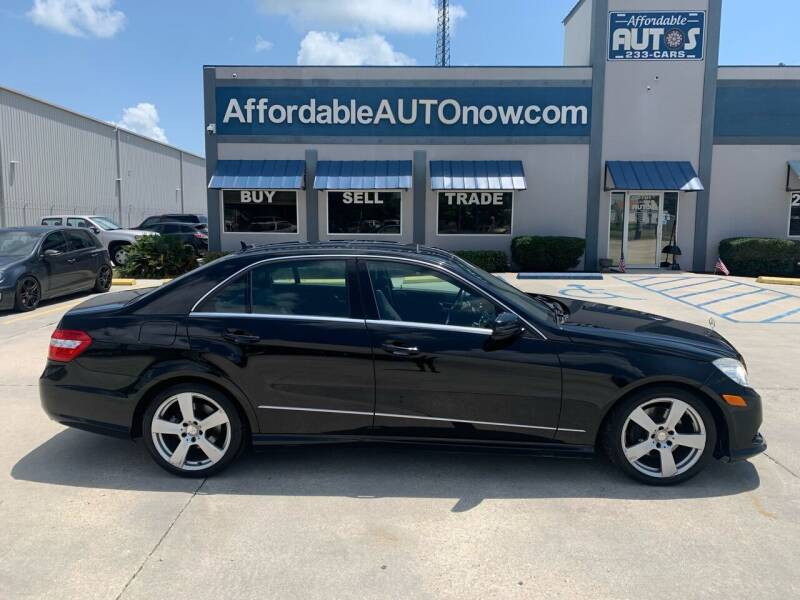 2010 Mercedes-Benz E-Class for sale at Affordable Autos in Houma LA