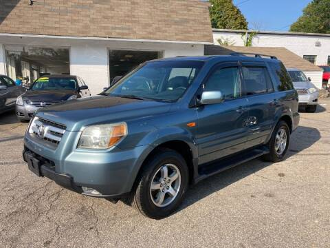 2006 Honda Pilot for sale at ENFIELD STREET AUTO SALES in Enfield CT