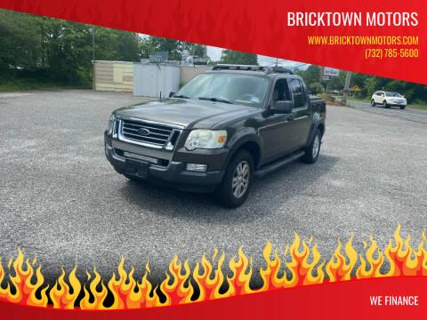 2008 Ford Explorer Sport Trac for sale at Bricktown Motors in Brick NJ