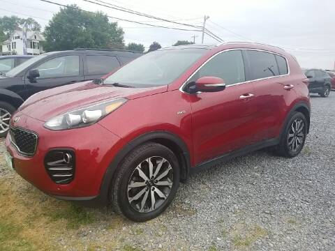 2017 Kia Sportage for sale at Cascade Used Auto Sales in Martinsburg WV