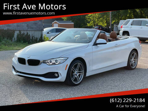 2017 BMW 4 Series for sale at First Ave Motors in Shakopee MN
