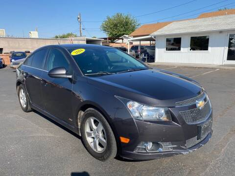 2014 Chevrolet Cruze for sale at Robert Judd Auto Sales in Washington UT