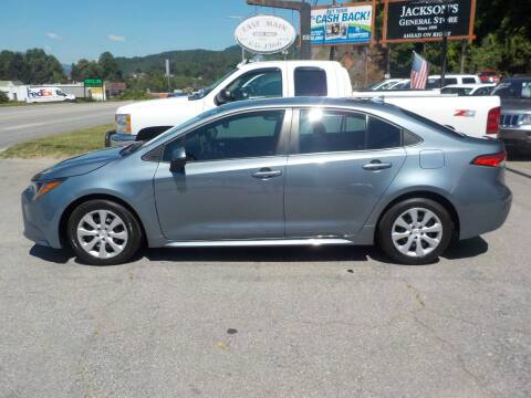 2020 Toyota Corolla for sale at EAST MAIN AUTO SALES in Sylva NC