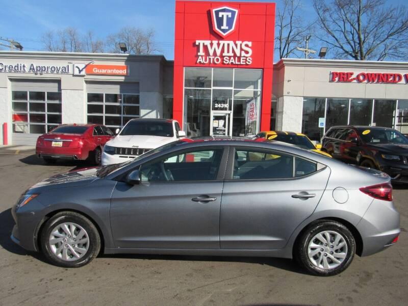 2019 Hyundai Elantra for sale at Twins Auto Sales Inc - Detroit in Detroit MI