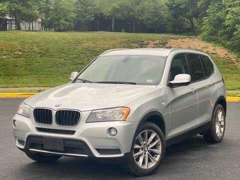 2013 BMW X3 for sale at Diamond Automobile Exchange in Woodbridge VA
