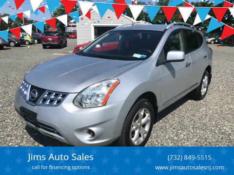 2011 Nissan Rogue for sale at Jims Auto Sales in Lakehurst NJ