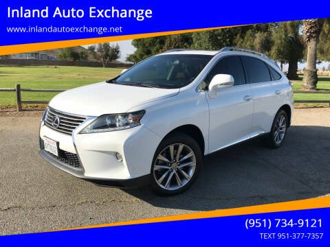 2013 Lexus RX 450h for sale at Inland Auto Exchange in Norco CA