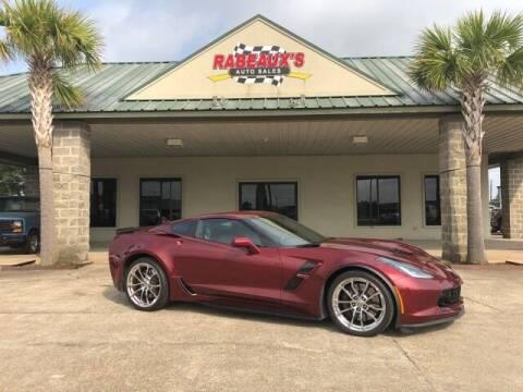 2017 Chevrolet Corvette for sale at Rabeaux's Auto Sales in Lafayette LA