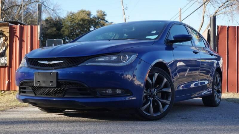 2016 Chrysler 200 for sale at Hidalgo Motors Co in Houston TX