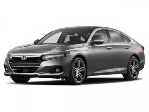 2021 Honda Accord Hybrid for sale at DAVID McDAVID HONDA OF IRVING in Irving TX