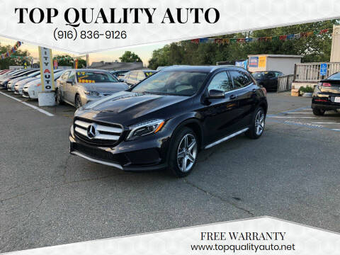 2015 Mercedes-Benz GLA for sale at TOP QUALITY AUTO in Rancho Cordova CA