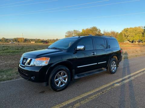 2012 Nissan Armada for sale at Tennessee Valley Wholesale Autos LLC in Huntsville AL