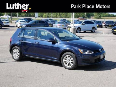 2017 Volkswagen Golf for sale at Park Place Motor Cars in Rochester MN