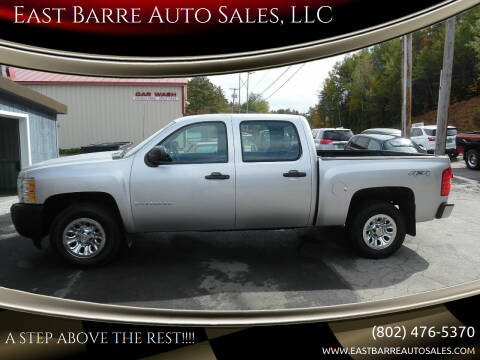 2013 Chevrolet Silverado 1500 for sale at East Barre Auto Sales, LLC in East Barre VT
