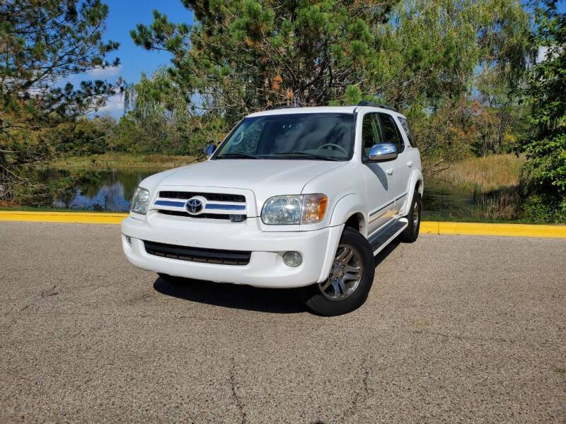 2007 Toyota Sequoia for sale at Excalibur Auto Sales in Palatine IL