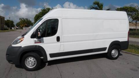 2016 RAM ProMaster Cargo for sale at Quality Motors Truck Center in Miami FL