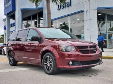 2018 Dodge Grand Caravan for sale at DORAL HYUNDAI in Doral FL