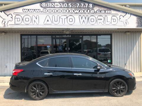 2017 Nissan Sentra for sale at Don Auto World in Houston TX