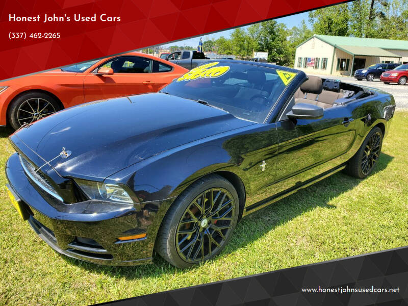 2014 Ford Mustang for sale at Honest John's Used Cars in Deridder LA