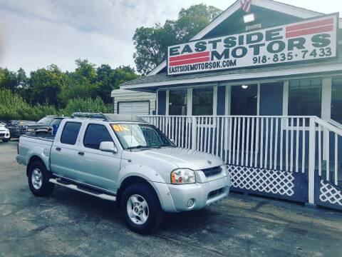 2001 Nissan Frontier for sale at EASTSIDE MOTORS in Tulsa OK