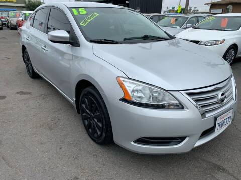 2015 Nissan Sentra for sale at North County Auto in Oceanside CA