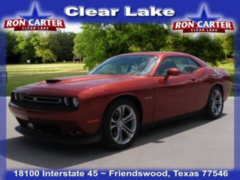 2021 Dodge Challenger for sale at Ron Carter  Clear Lake Used Cars in Houston TX