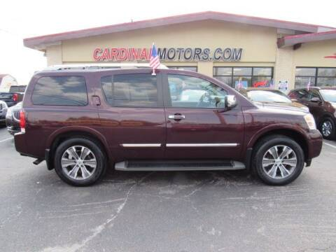 2015 Nissan Armada for sale at Cardinal Motors in Fairfield OH