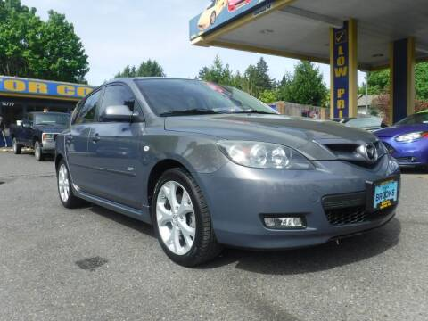 2008 Mazda MAZDA3 for sale at Brooks Motor Company, Inc in Milwaukie OR