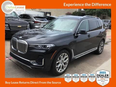 2019 BMW X7 for sale at Dallas Auto Finance in Dallas TX