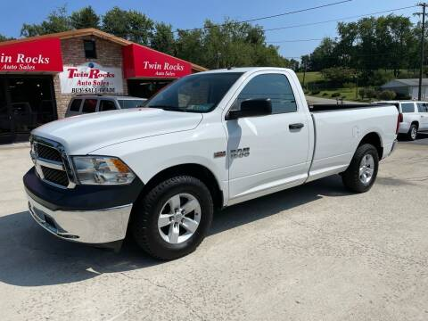 2018 RAM Ram Pickup 1500 for sale at Twin Rocks Auto Sales LLC in Uniontown PA