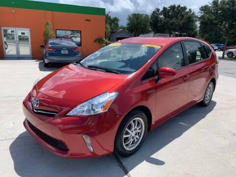 2014 Toyota Prius v for sale at Galaxy Auto Service, Inc. in Orlando FL