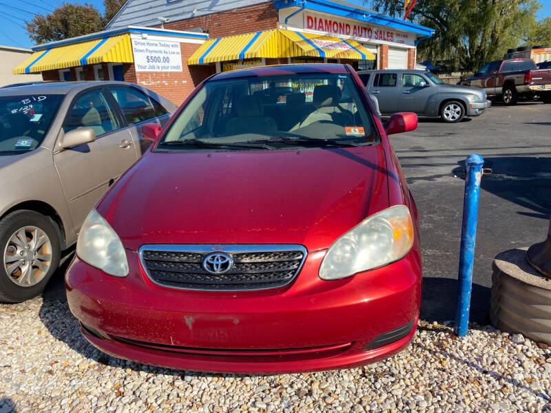 2007 Toyota Corolla for sale at Diamond Auto Sales in Pleasantville NJ